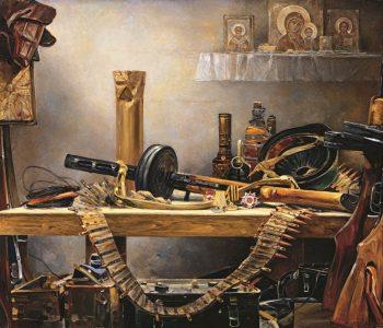 Выставка Василия Нестеренко «Наука побеждать»