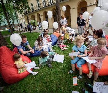 Festival of children's books in the open air