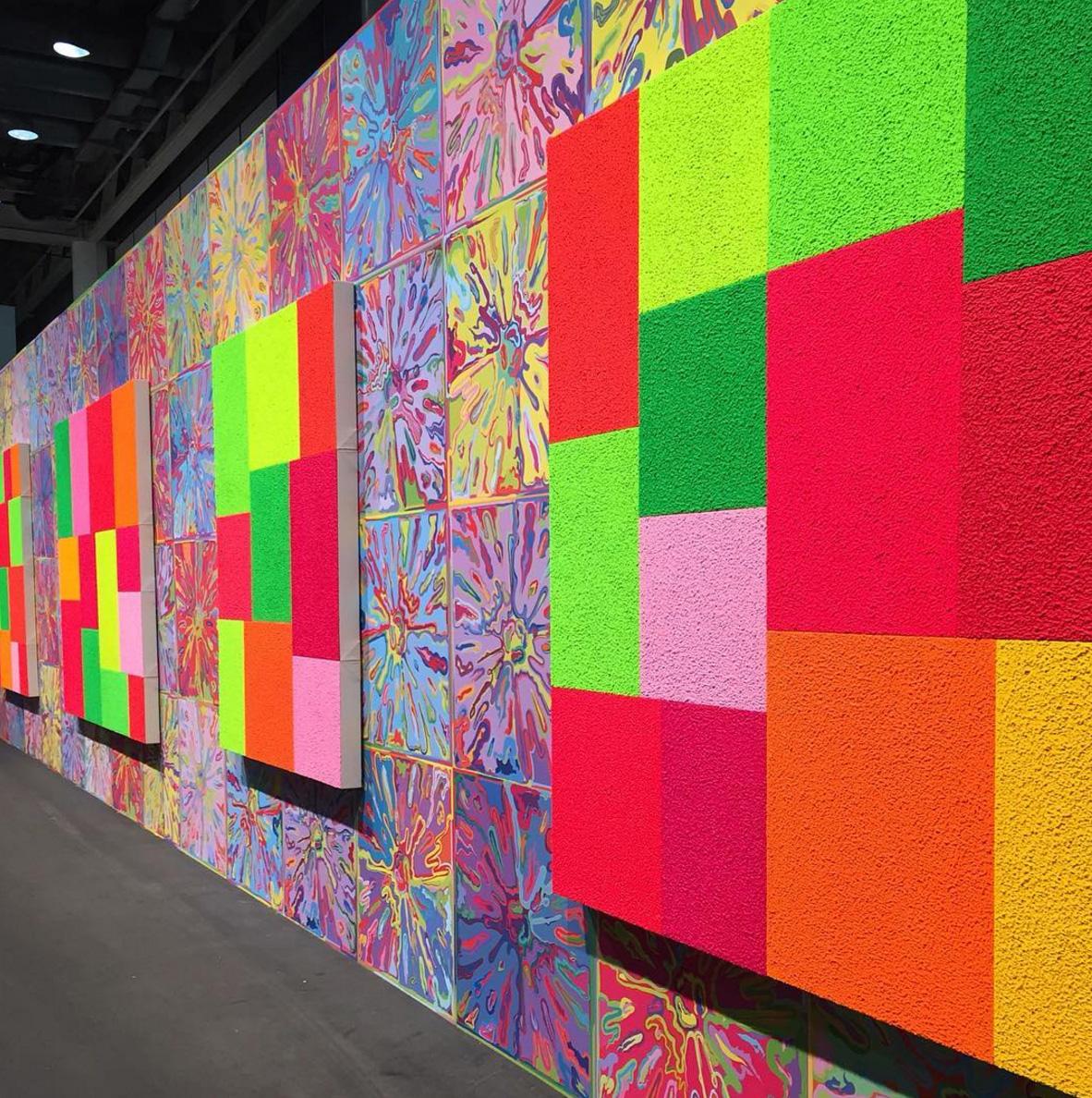 Персональная выставка легендарного нью-йоркского художника-неоконцептулиста Питера Хелли