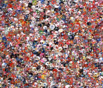 Выставка Такаси Мураками «Будет ласковый дождь»