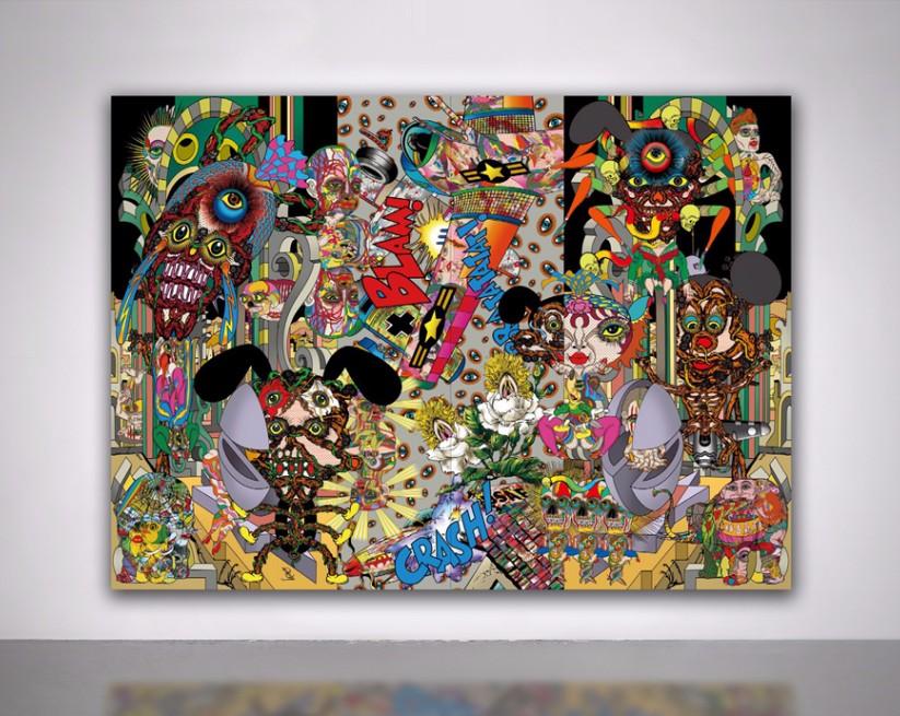 Выставка Keiichi Tanaami «Страна зеркал»