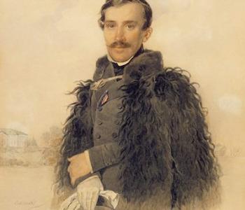 Выставка акварельного портрета П. Ф. Соколова
