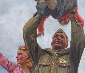 Выставка «Живая летопись войны»