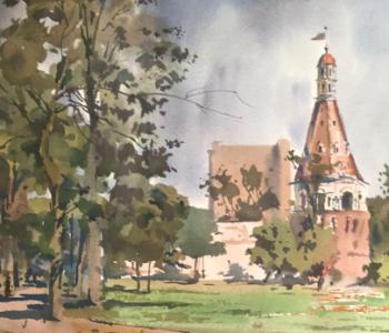 Выставка «Акварельная Москва. К 870-летию Москвы»