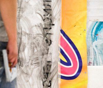Персональная выставка Егора Федоричева «Складка на занавесе»