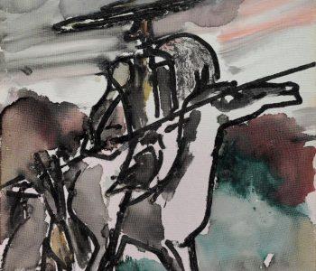 Exhibition «Attack of Don Quixote. Dali. Lithography. Zverev. Painting. Graphic arts»