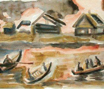 Выставка произведений Элеоноры Жареновой «Акварель»