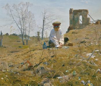Выставка произведений Дмитрия Белюкина «Время собирать камни…»