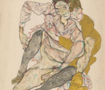 Встреча в экспозиции выставки «Густав Климт. Эгон Шиле. Рисунки из музея Альбертина (Вена)»