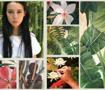 Выставка Евы Евинзон «Лики природы»