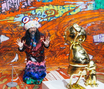 Лекция «Artist talk Такаси Мураками и куратора Екатерины Иноземцевой»