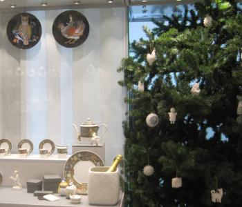 Выставка «Мастерская Деда Мороза Игоря Клименкова. Фарфоровый подарок»
