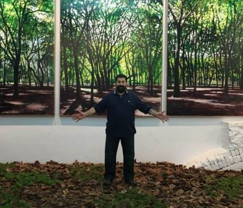 "Gogi Totibadze's exhibition ""Under the cover of forests"""