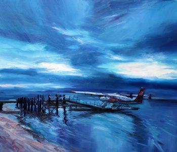 "Julia Volkonskaya's exhibition ""Catch the wave!"""