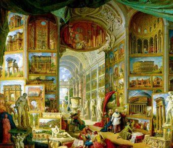 Выставка-интервенция пионера медиаискусства в Италии Фабрицио Плесси «Оставленное время. От Античности к барокко»