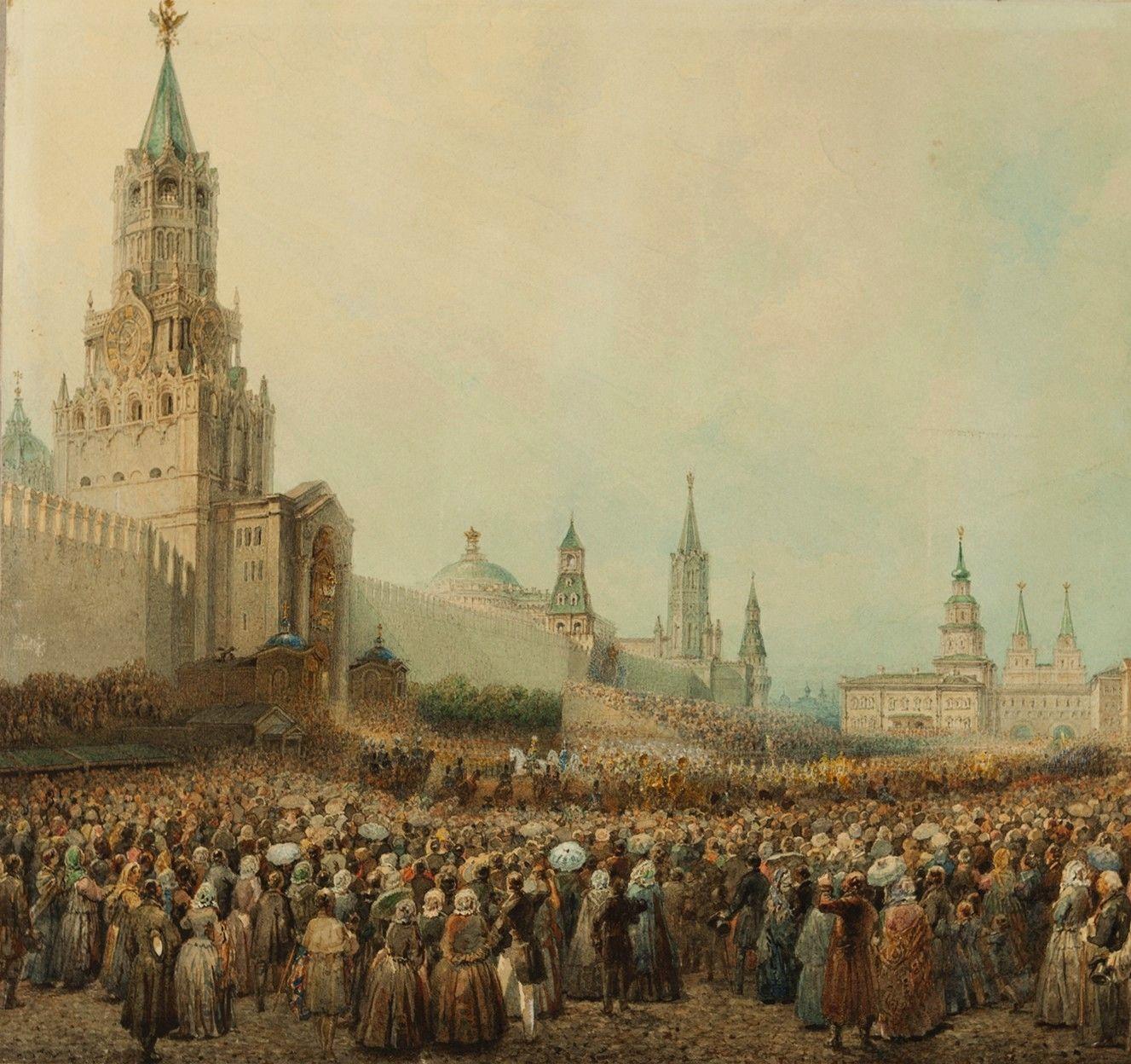 Выставка Василия Садовникова «Панорамы Невского проспекта 1830-х годов»