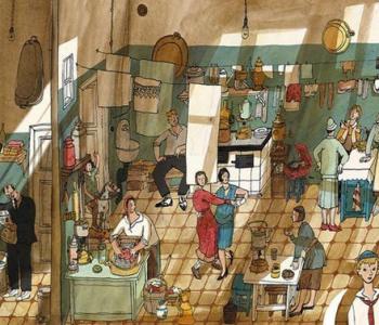 Выставка «История старой квартиры»