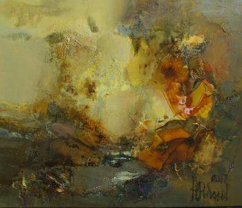 "Exhibition of Nikolai Rybakov's works ""Cosmogonic Wanderings"""
