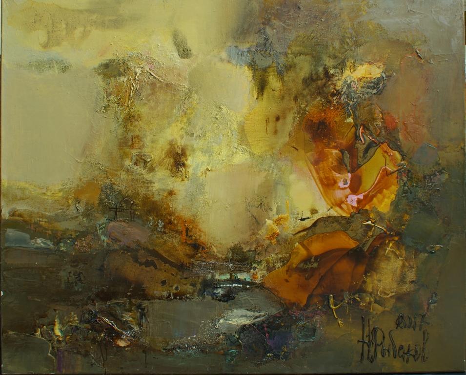 Выставка произведений Николая Рыбакова «Космогонические странствия»