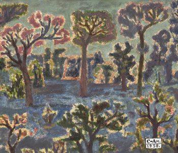 Финисаж выставки Федора Семенова-Амурского «В садах моего воображения»