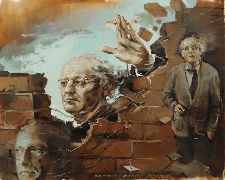 Выставка портретов Т. Кузьминой-Чугуновой «Поэты России»