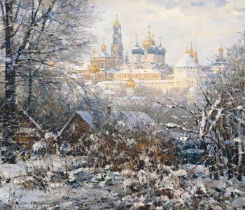 Выставка живописи Василия Нестеренко «Русская зима»