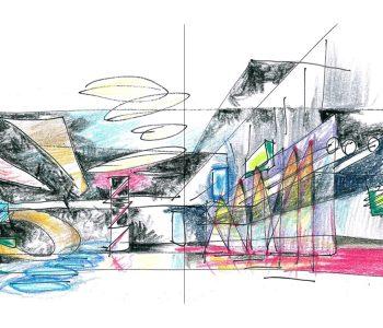 Выставка «От линии к объёму. Архитектурная графика Александра Балабина»