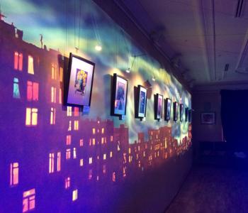 Выставка Станислава и Ольги Кочневых «Музыканты рисуют»