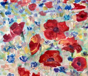 Выставка Дарьи Пилецкой «L`histoire de fleurs»