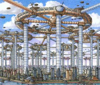 Выставка «Архитектурная фантастика и футурология Артура Скижали-Вейса»