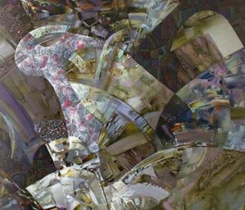 Выставка живописи Дмитрия Стрелкова «Гармония хаоса»