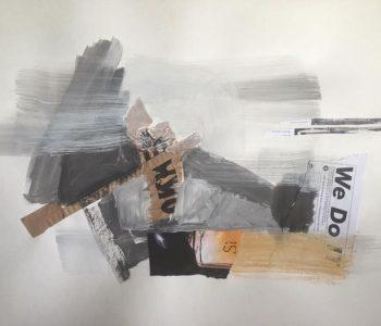 Ленивая графика Марины и Нины Мариз на выставке «Лень» в Галерее на Каширке