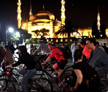 Воркаут-выставка «Велоночь в Музее – 12 городов Земли!»