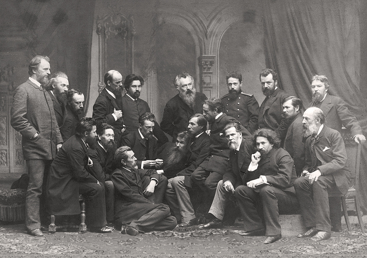 """Exhibition """"In the circle of comrades. To the 180th anniversary of the birth of IN Kramskoy"""""""