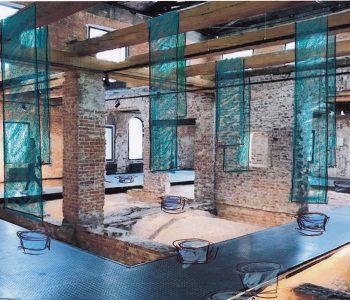 Выставка «Рето Эмх – Инсталляция Руина / Юрский город»
