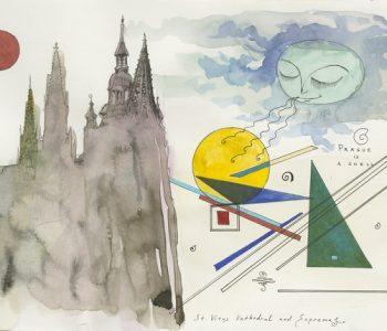 Выставка Павла Пепперштейна «Пражские сказки»