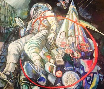 Выставка Михаила Ромадина «Солярис»
