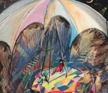 Выставка «Театр Екатерины Еланской в сценографии Владимира Солдатова»