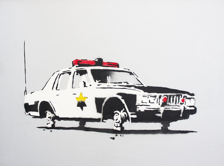 Выставка стрит-арт художника «Banksy»