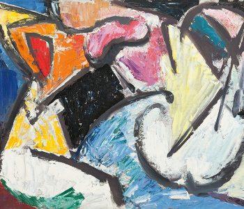 Выставка Валерия Волкова «Пантомима цвета»