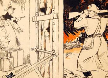 Выставка «Антифашистская графика времен Великой Отечественной войны»
