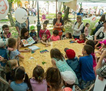 Фестиваль детской книги на открытом воздухе