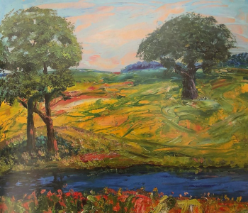 "Exhibition of Vasily Shevchenko's painting ""I write ideas …"""