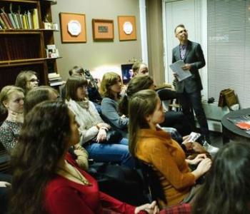 Встреча поэтического студенческого клуба «Полиграфомания в Доме Носова»