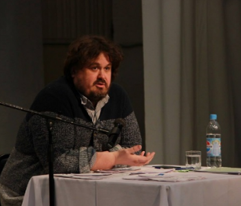 """Lecture by Pavel Rudnev """"The event and the hero: how does the attitude to these key concepts in drama and theater change?"""""""