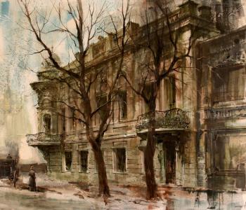 Выставка Соловьевой Марии «Архитектурные пейзажи»
