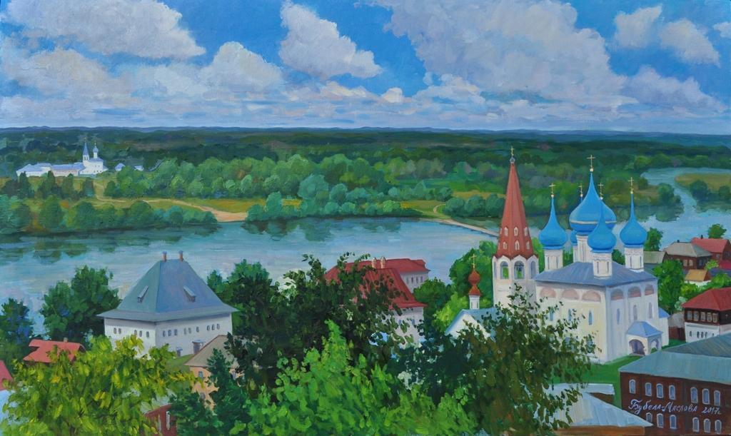 Выставка произведений В. С. Бубела-Масловой «Гороховец – ожившая легенда»