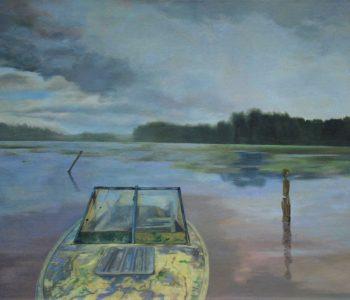 Персональная выставка Евы Аракчеевой «Цвет психотрии на Монблане»