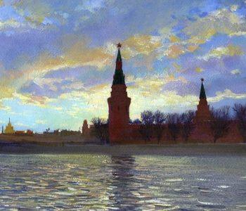 Выставка Алексея Буртасенкова «От Москвы до самых до окраин»