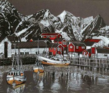 Выставка Марины Богомазовой «Куда дует ветер»